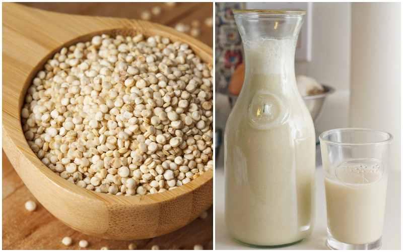 semillas de quinoa preparacion