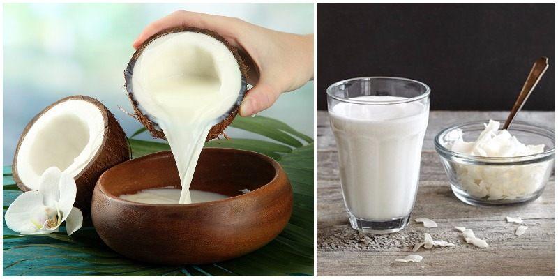 Beber una cucharada de aceite de coco