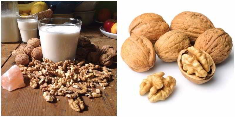 Resultado de imagen para imagenes de leche de nueces